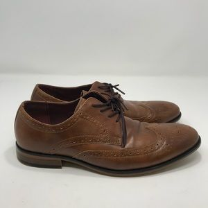 APT.9 Memory Foam Brown Lace Up Shoes Size 8 B105